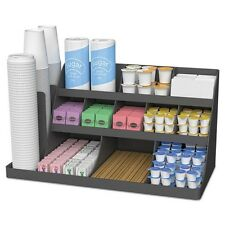 Mind Reader Extra Large Coffee Condiment & Accessory Organizer - COMORG02BLK