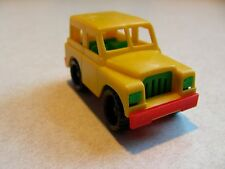 BRUDER MINI vintage toy ROVER Made in Germany SNAP TOGETHER antique NEW suv RARE