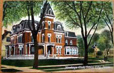 1909 Sioux City, IA Postcard: Hawkeye Club Building - Iowa