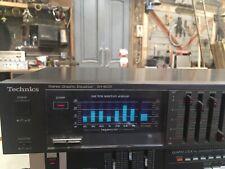 New ListingTechnics Sh-8033 Dual 7 Band Stereo Graphic Equalizer W/ Spectrum Display