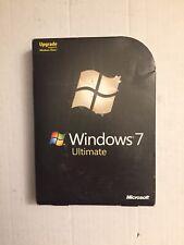 Microsoft  Windows 7 Ultimate 32/64-Bit Upgrade W Key