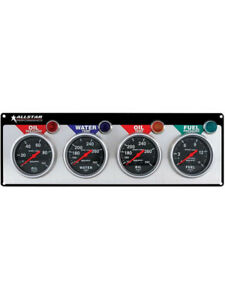 Allstar Performance Gauge Panel Assembly Auto Meter Sport-Comp Fuel … (ALL80114)