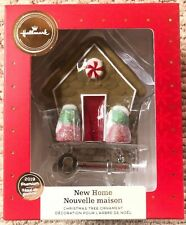 2019 Hallmark Premium Christmas Tree Ornament Gingerbread House Key New Home New