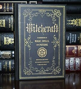 Witchcraft Handbook of Magic Spells and Potions New Collectible Hardcover Gift