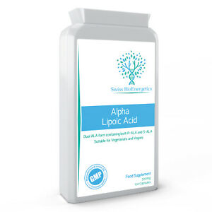 Alpha Lipoic Acid 300mg 120 Capsules