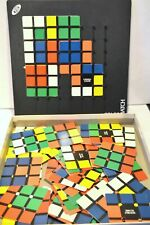 Rare Colour Match Rubiks Cube Makers Ideal Game 1982 Strategy Family Challenge