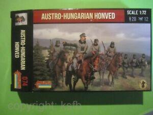 1:72 Strelets #074 WKI Österreich Ungarn Honved Kavallerie und Infanterie Armee