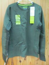NWT Under Armour Women's UA Treestand Base Crew Rifle Green Large