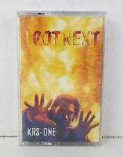 KRS-One I Got Next sealed cassette 1977 USA Jive 01241-41601-4