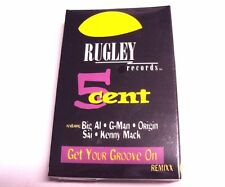 5Cent 5 Cent Get Your Groove On Remixx Cassette Tape Music Rugley Records G-Man