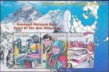Malaysia 1999 Siri Milenium 3 MS MNH