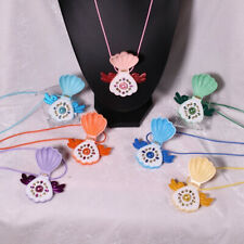 DIY Openable Shell Pendant Mermaid Melody Necklace Pichi Pichi Pitch Necklace
