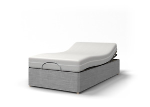 Majestic IND 3ft Single, 3ft 6 LSingle or 4ft SDouble Electric Adjustable Bed-NH