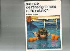SCIENCE DE L'ENSEIGNEMENT DE LA NATATION