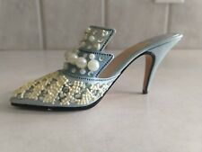 Just The Right Shoe By Raine Frosted Fantasy 1999 25032 Miniature Shoe Victorian