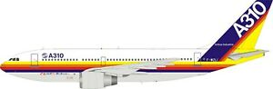 AIRBUS A310-203 REG: F-WZLI WITH STAND - INFLIGHT 200 IF310HOUSE 1/200