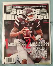 SPORTS ILLUSTRATED DAK PRESCOTT DALLAS COWBOYS MISSISSIPPI STATE NO LABEL 2014
