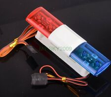 COOL RC Model Car refit Police Night Flash Bright Red Blue LED Light  LED501
