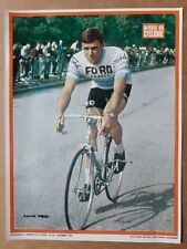 cyclisme tour de France miroir du cyclisme poster vintage années 60 NOVOK