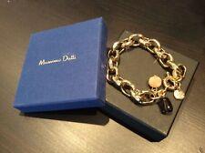 NEW Chunky Gold Massimo Dutti Bracelet