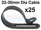 1 x DURITE 000359 0-003-59 laiton /'P/' Clip Câbles Jusqu /'à 25 mm 5 mm Fixation Trou