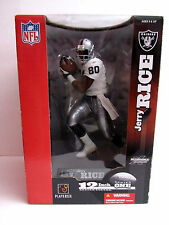 Jerry Rice Oakland Raiders #80 Series 1 2003 McFarlane 12 inch Figure 49ers HOF