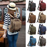 Unisex Canvas Convertible Small Mini Backpack Rucksack Chest Pack Sling Bag