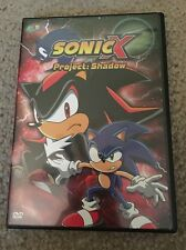 Sonic X - Vol. 8: Project: Shadow (DVD, 2005) Free Shipping