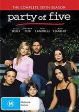 Party Of Five : Season 6 (DVD, 2017, 4-Disc Set)