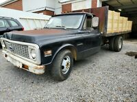 1972 Chevy Dump Truck bed clean T itle project rat hot rod C30 Runs Drives Works