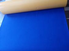 Filz, selbstklebend, Meterware, 70 cm x 50 cm, Blau, 1 mm,  Dekofilz, Klebefilz