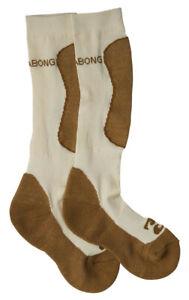 Billabong Compass Merino Women - White Cap - L - Snowboard Socks