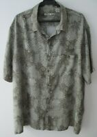 "Vintage Auth Batik Bay Pineapples & Palms Hawaiian Shirt  54""-137cm XXL (643H)"