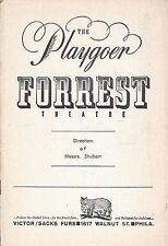 """George Voskovec """"A CALL ON KUPRIN"""" Eugenie Leontovich 1961 FLOP Tryout Playbill"""