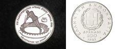 1982 Greece Silver Proof 100 drachma-Pole Vault