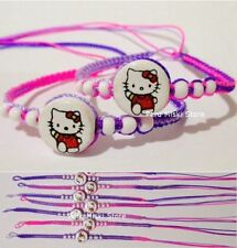70 FRIENDSHIP BRACELETS with HELLO KITTY beads