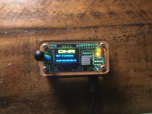 MMDVM Simplex Jumbo Hotspot OLED Screen DMR YSF D* P25 Pi Star Assembled
