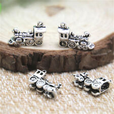 20pcs Train Charms silver tone Small Train Charms pendant 20x11x5mm