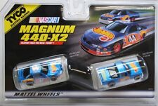HO Slot Car - Tyco 440x2 Magnum Twin Pack - Hot Wheels NASCAR & NASTRUCK - 34018