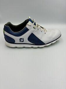 FootJoy PRO SL Men's Spikeless Golf Shoes 12M - Black Leather, 53584