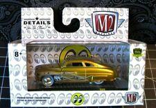 M2 MACHINES 1/64 MOONEYES SATIN GOLD 1940 MERCURY CUSTOM S69 NEW