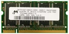 128 MB PC2700 DDR-333MHz no ECC CL2.5 200-Pin Sodimm unbuf (Mt 4 VDDT 1664HY-335K1)