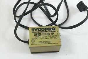 Tyco Model 608B Hobby Transformer HO Model Railroad Train 6VA 18V DC Output