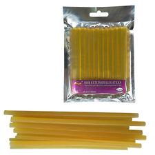 Jaune 12 bâtons xfessional Kératine Colle pour Extension de cheveux