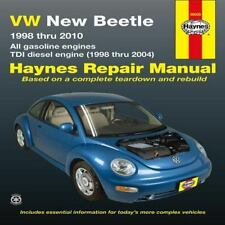 Haynes Repair Manual: VW New Beetle 1998 Thru 2010 : All Gasoline Engines - TDI