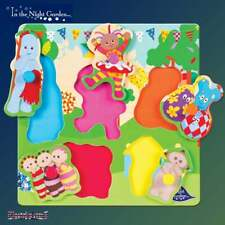 Night Garden Pick & Place Wooden Frame Peg Jigsaw Puzzle