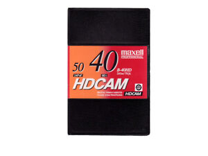 Maxell B-40HD - HDCAM Kassette