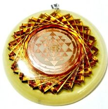 Sri Yantra Universal 21 Vortex Quantic Resona Metayantra Pranic Device ORGONITE