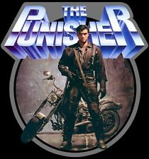 80's Comic Classic The Punisher Poster Art custom tee Any Size Any Color