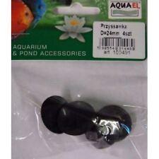 AquaEL Filtro 280/360 ventosas x4 (Pequeño) Para Calentadores AquaEL Filtros